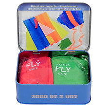 Buy Apples To Pears Mini Kite Flying Kit Tin Online at johnlewis.com