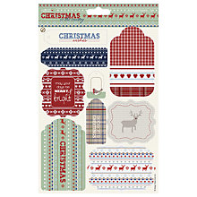Buy Docrafts Papermania Christmas in the Country Die Cut Toppers Online at johnlewis.com