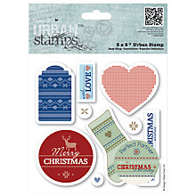 Buy Docrafts Papermania Christmas in the Country Stamps Online at johnlewis.com