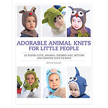 Buy Adorable Animal Knits for Little People Book Online at johnlewis.com