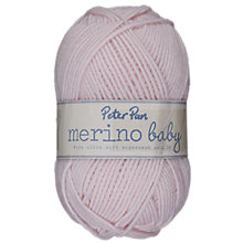 Buy Wendy Peter Pan Merino Wool Baby DK Yarn, 50g Online at johnlewis.com
