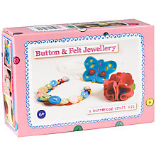 Buy Buttonbag Button and Felt Jewellery Kit Online at johnlewis.com