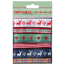 Buy Docrafts Papermania Christmas in the Country, Pack of 6 Online at johnlewis.com