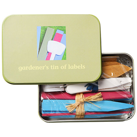 Buy Apple to Pears Mini Gardeners Labels Tin Online at johnlewis.com