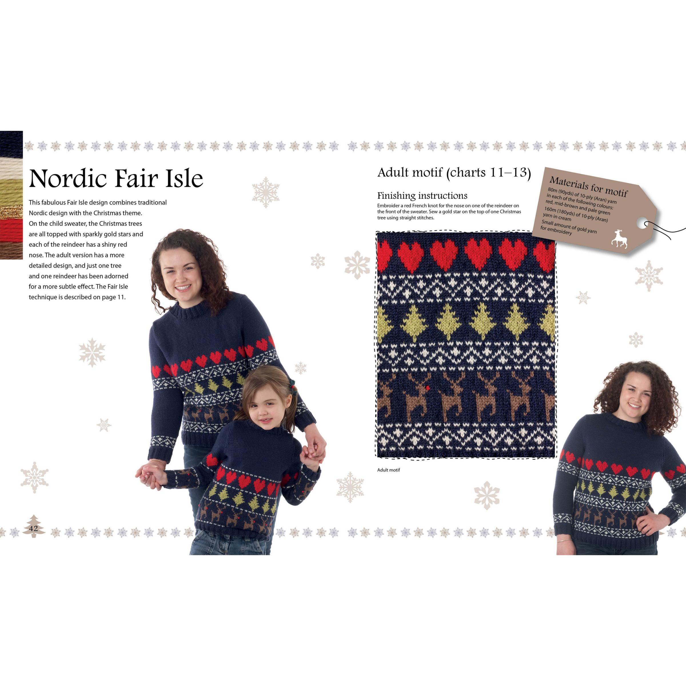 John Lewis Snowman Knitting Pattern : Buy Merry Christmas Sweaters to Knit by Sue Stratford Knitting Book John Lewis