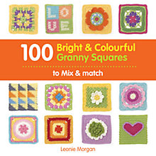 Buy 100 Bright and Colourful Granny Squares Book Online at johnlewis.com
