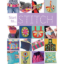 Buy Start To Stitch Book Online at johnlewis.com