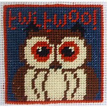 Buy Cleopatra's Needle Owl Tapestry Starter Kit Online at johnlewis.com