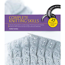 Buy Complete Knitting Skills Online at johnlewis.com