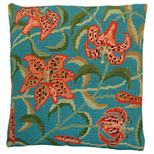 Buy Cleopatra's Needle Tiger Lily Herb Pillow Tapestry Kit Online at johnlewis.com