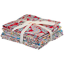 Buy John Lewis Fat Quarters, Pack of 6, Mixed Paisley Online at johnlewis.com