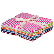 Buy Stripe Fat Quarters, Pack of 6 Online at johnlewis.com