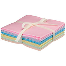 Buy John Lewis Solid Colour Fat Quarters, Pack of 6 Online at johnlewis.com