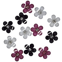Buy Jesse James Flower Embellishments, Pack of 9 Online at johnlewis.com
