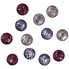 Buy Jesse James Jewel Embellishments, Pack of 12 Online at johnlewis.com