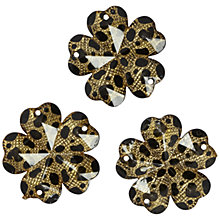 Buy Jesse James Floral Embellishments, Pack of 3 Online at johnlewis.com