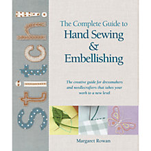 Buy Stitch! The Complete Guide To Hand Sewing and Embellishing Online at johnlewis.com