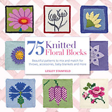 Buy 75 Knitted Floral Blocks Online at johnlewis.com