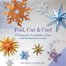 Buy Fold, Cut, Curl: 75 Exquisite Snowflakes, Stars and Sunbursts to Make Online at johnlewis.com