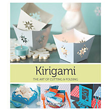 Buy Kirigami the Art of Cutting and Folding Online at johnlewis.com