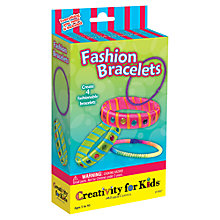 Buy Creativity For Kids Fashion Bracelets Kit Online at johnlewis.com