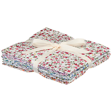 Buy John Lewis Fat Quarters, Pack of 6, Ditsy Floral Online at johnlewis.com