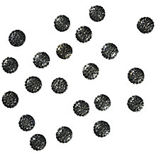 Buy Jessie James Crystal Embellishments, Pack of 18, Silver Online at johnlewis.com