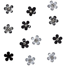 Buy Jesse James Petal Flower Embellishments, Pack of 9 Online at johnlewis.com