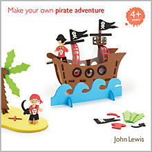 Buy John Lewis Make Your Own Pirate Adventure Kit Online at johnlewis.com