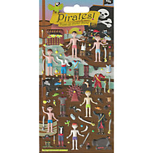Buy Foam Dress Up Pirate Stickers Online at johnlewis.com