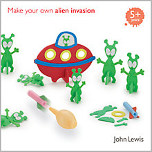 Buy John Lewis Make Your Own Alien Invasion Kit Online at johnlewis.com