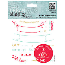 Buy Docrafts Papermania 12 Days of Christmas Stamp Online at johnlewis.com
