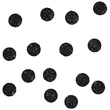 Buy Jesse James Small Glitter Dot Paper Toppers, Pack of 15 Online at johnlewis.com