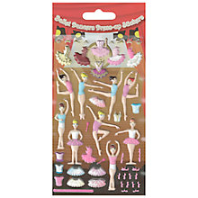 Buy Foam Dress Up Ballerina Stickers Online at johnlewis.com