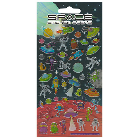 Buy Resin Space Stickers Online at johnlewis.com