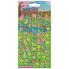 Buy Puffy Butterfly Stickers Online at johnlewis.com
