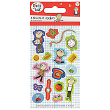 Buy Charlie and Lola Stickers Online at johnlewis.com