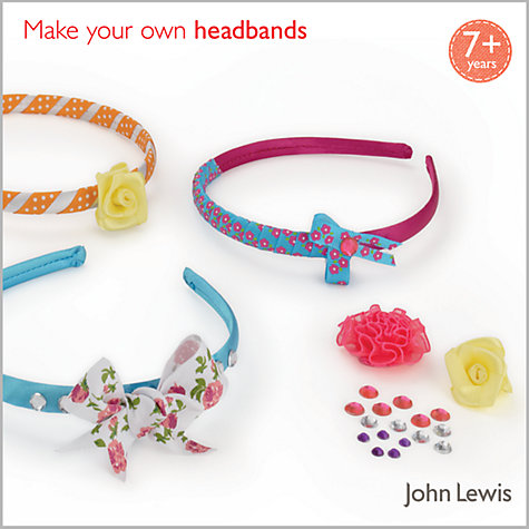Buy John Lewis Make Your Own Headbands Kit Online at johnlewis.com