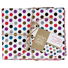 Buy Docrafts Capsule Collection Jewel Spots and Stripes Fat Quarters, Pack of 5 Online at johnlewis.com