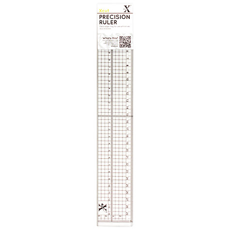Buy Docrafts Xcut Precision Ruler Online at johnlewis.com