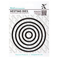 Buy Docrafts Xcut Circle Nesting Die Cuts, Pack of 5 Online at johnlewis.com