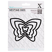 Buy Docrafts Xcut Butterfly Die Cut Nesting, Pack of 5 Online at johnlewis.com