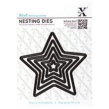 Buy Docrafts Xcut Star Nesting Dies, Pack of 5 Online at johnlewis.com