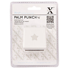 Buy Docrafts Xcut Medium Palm Punch, Star Online at johnlewis.com