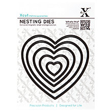 Buy Docrafts Xcut Heart Die Cut Nesting, Pack of 5 Online at johnlewis.com