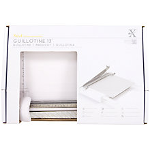 Buy Docrafts Xcut 33cm Guillotine Online at johnlewis.com