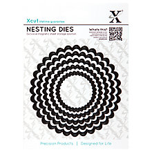 Buy Docrafts Xcut Scalloped Circle Nesting Die Cuts, Pack of 5 Online at johnlewis.com
