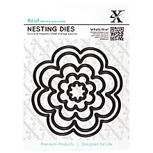 Buy Docrafts Xcut Flower Bloom Nesting Die Cut, Pack of 5 Online at johnlewis.com