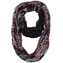 Buy Fat Face Autumn Floral Snood, Purple Online at johnlewis.com