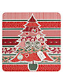 Laura Darrington Christmas Patterned Tree Christmas Card